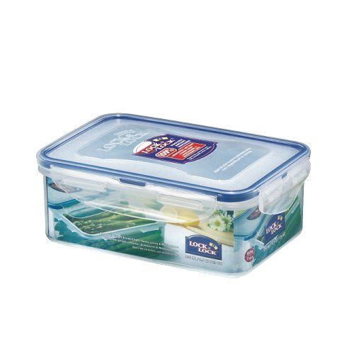 Lock and /& Lock Plastic Food Storage Containers Cake Lunch Box Cereal BPA FREE