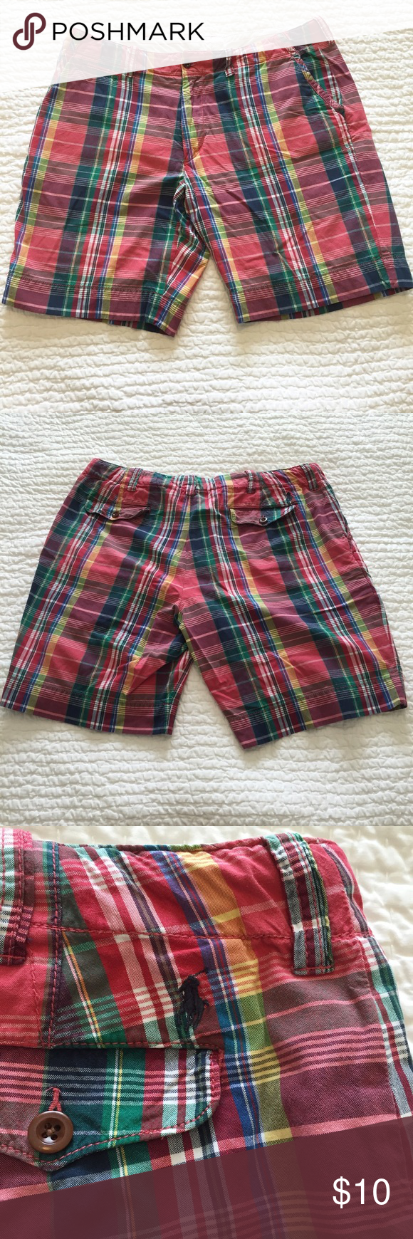 polo ralph lauren plaid shorts polo store near me