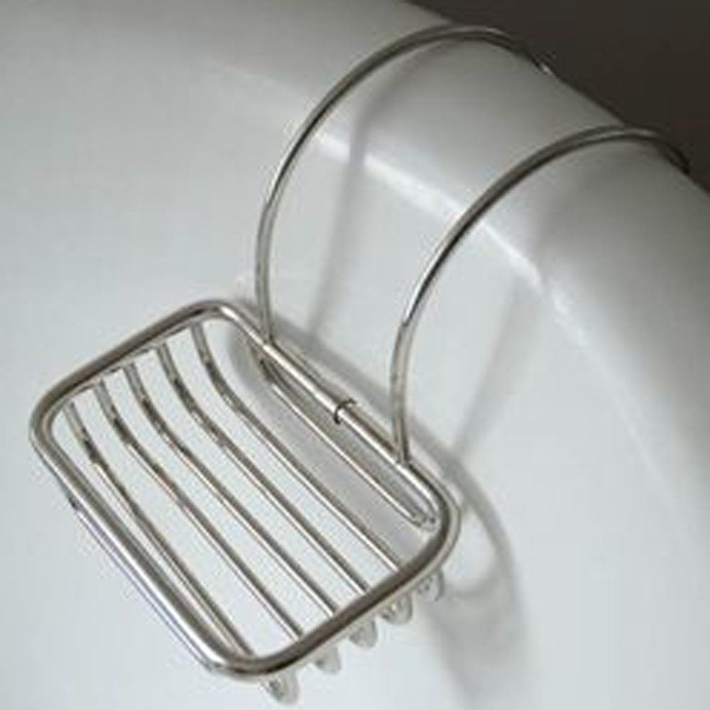 Nickel Plated Soap Holder For Roll Top Baths OUT OF STOCK  Willowandstone.co.uk