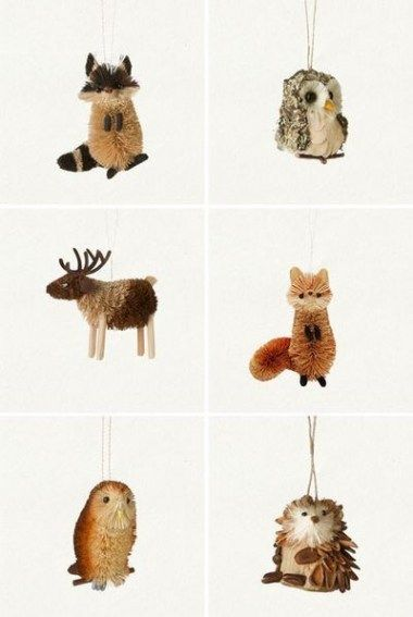 Little Critter Ornaments Woodland Christmas Ornaments Woodland Christmas Tree Woodland Christmas Theme