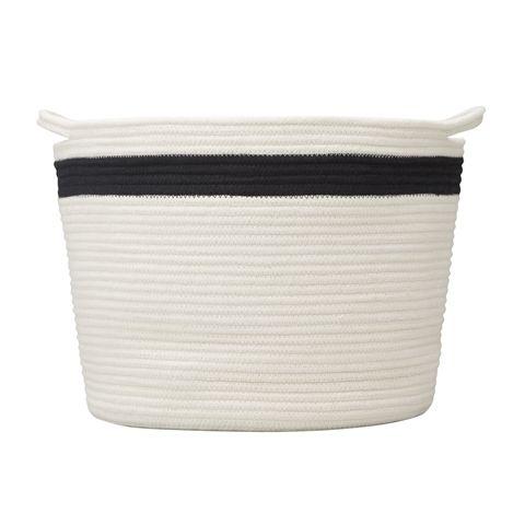 ロープ バスケット L ホワイト