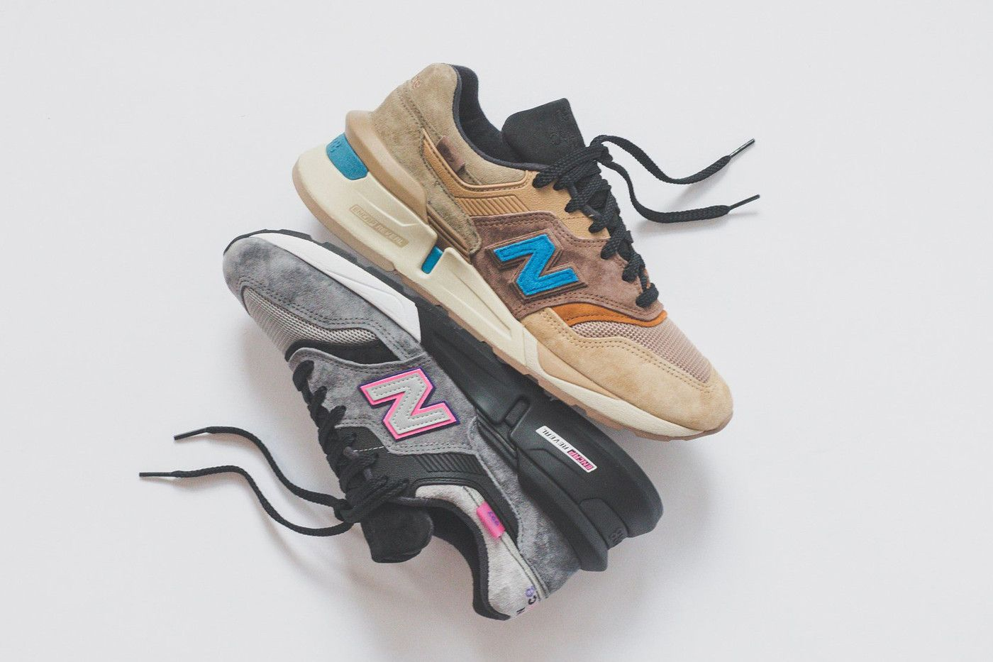 best loved ac77c ef5a9 KITH x New Balance Reveal Six Colorways in Upcoming ...