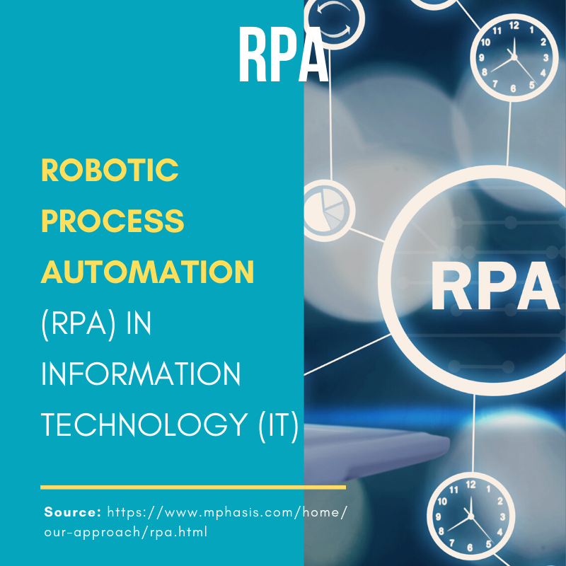 Robotic Process Automation In Information Technology Information Technology Technology Consulting Automation