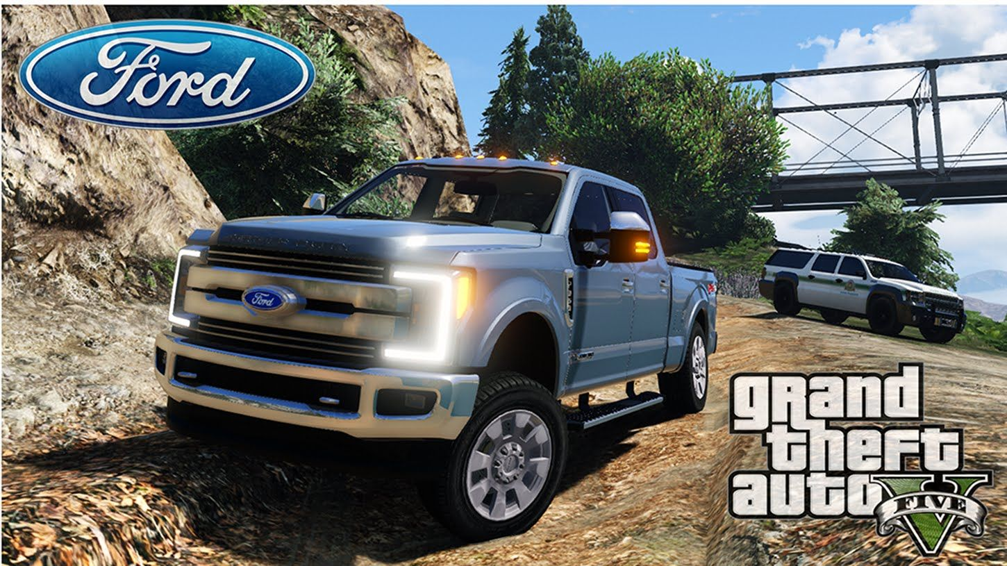 Grand Theft Auto 5 2017 Ford F350 Superduty Hd Offroad Beta Grandtheftautov Gtav Gta5 Grandtheftauto Gta