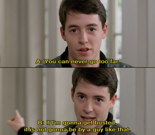 Matthew Broderick in Ferris Bueller\'s Day Off in 2019 | Day ...