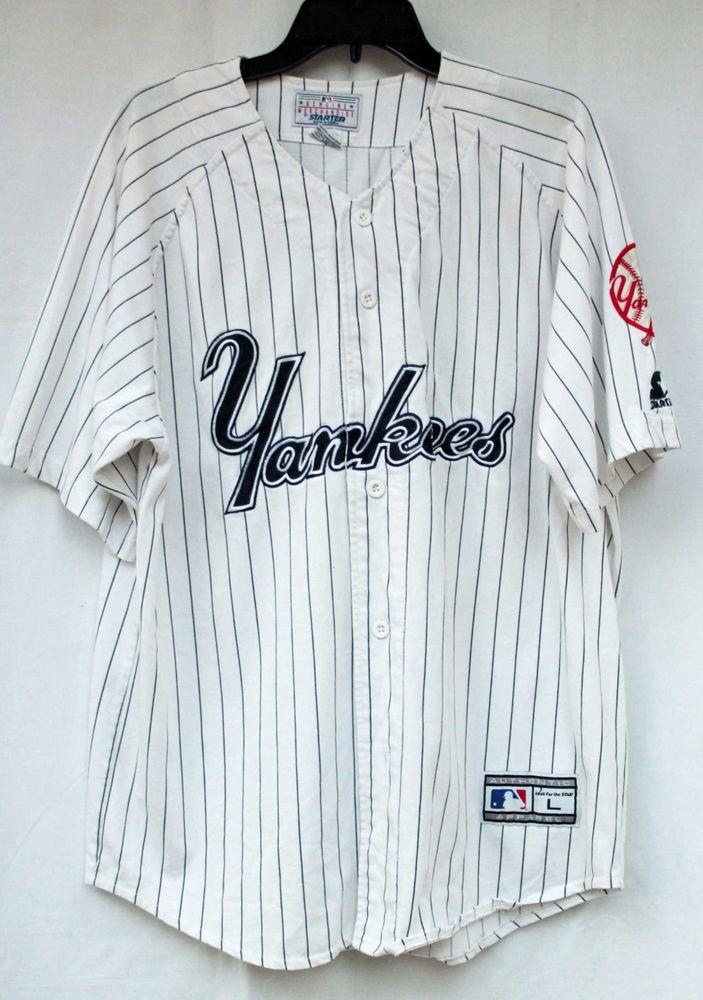 detailed look 2378b 9bf55 Vintage Starter New York #Yankees Pin Striped #Baseball ...