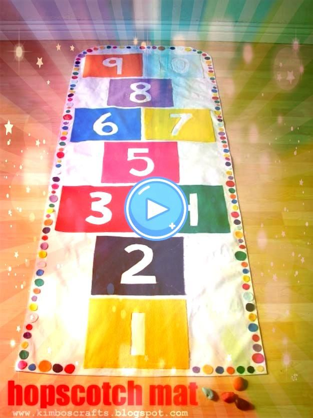 41 Fun DIY Gifts to Make For Kids Perfect Homemade Christmas Presents Touch Imagine Learn Play Fun DIY Gifts to Make For Kids (Perfect Homemade Christmas Presents!)   - Touch. Imagine. Learn. Play! -41 Fun DIY Gifts to Make For Kids (Perfect Homemade Christmas Presents!)   - Touch. Imagine. Learn. Play! -  Hopscotch Mat                                                                                                                                                              ...