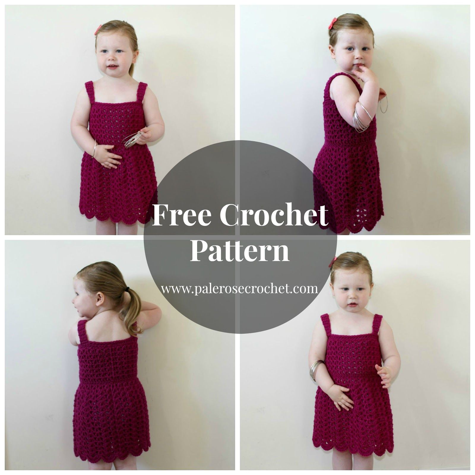 Free Crochet Pattern - Toddler Princess Dress | Crochet LOVE ...