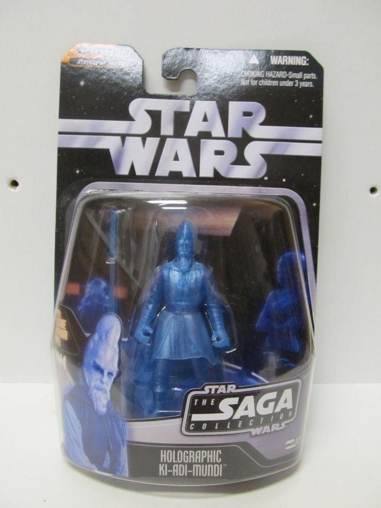 Star Wars Holographic KI-ADI-MUNDI The Saga Collection 2006 Saga Figure 027