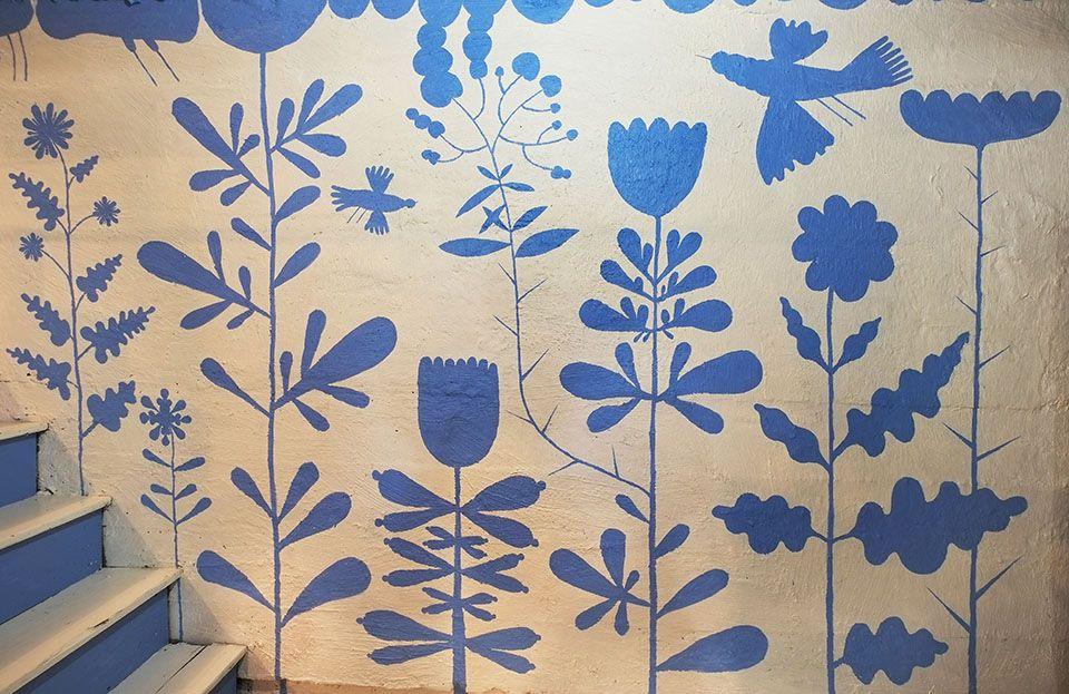 Elsa Mora - basement wall decor