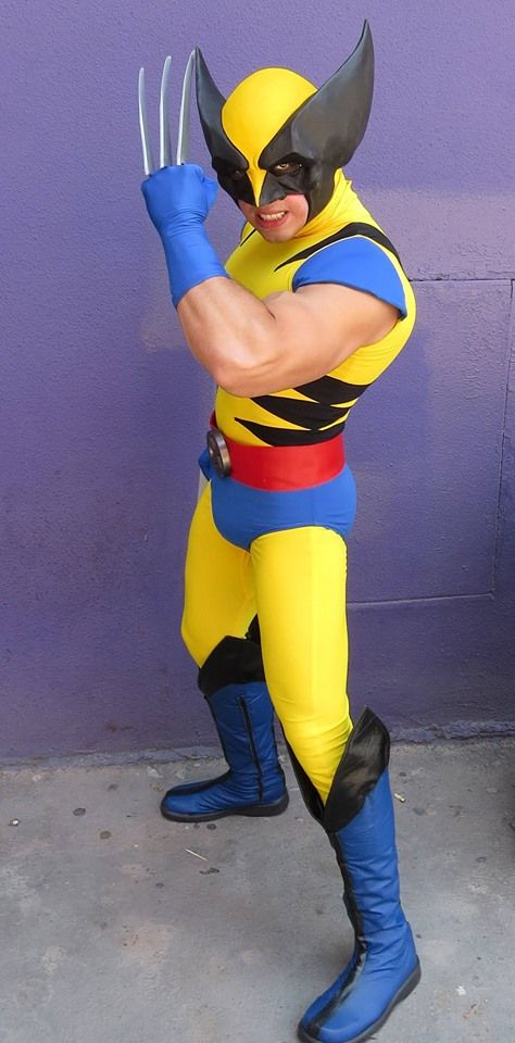 Wolverine From The X Men Cartoon Wolverine Costume 90s Halloween Costumes Super Hero Costumes