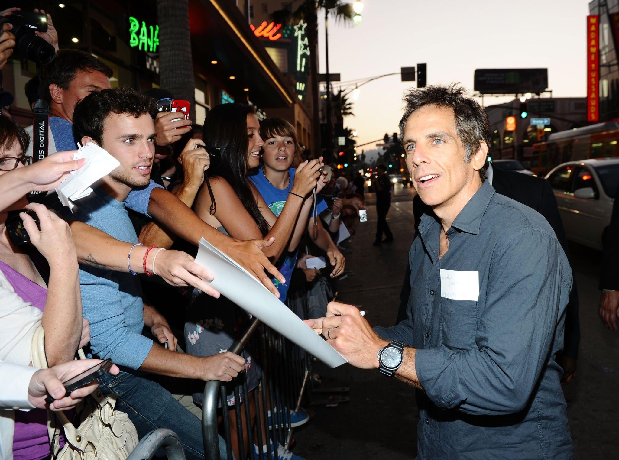 Ben Stiller Left Handed Celebrities Left Handed Best Actor