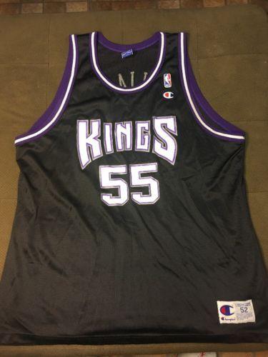 reputable site c0b30 09653 100% Authentic Champion Sacramento Kings Jason Williams NBA ...