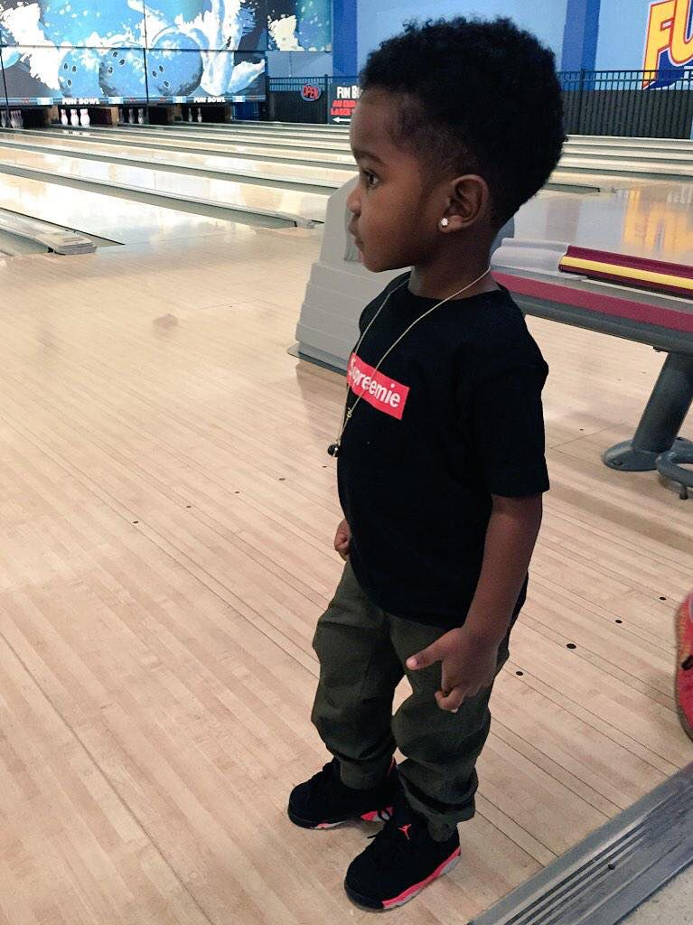 Go Follow Pinterest: @DatGruhTriniece | Itty Bitties ... |Little Black Kids With Swag