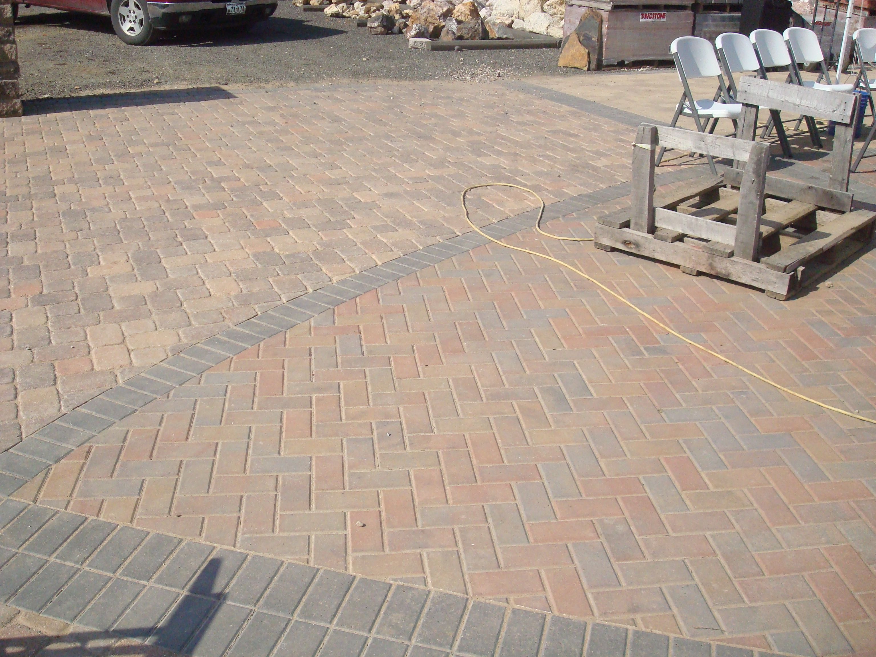 stone patio designs patio stone design ideas pavers retaining walls patio - Patio Stone Ideas With Pictures