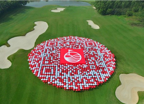 Worlds largest Golf Club and Resort now hosts biggest QR