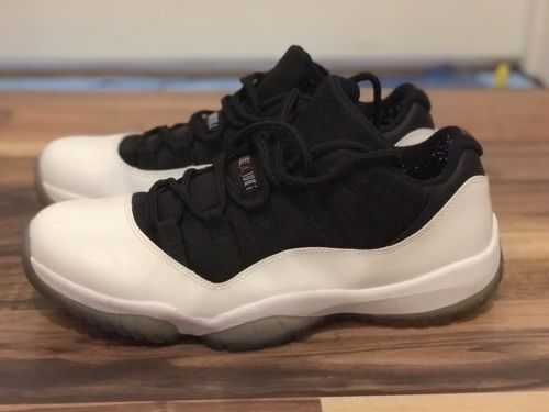 3352adac12c Nike Jordan 11 XI Low Reverse Concord Black White 2013 Size 10.5 VNDS  Preowned