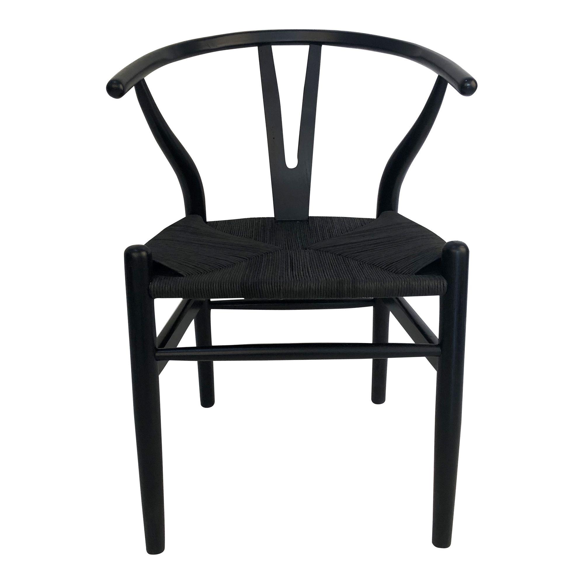 Ventana Dining Chair Black M2 Moe S Wholesale In 2020 Dining Chairs Dining Chair Set Moe S Home Collection