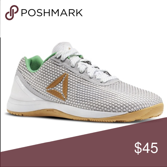 Reebok CrossFit Nano 7.0 in White/Green/Gold