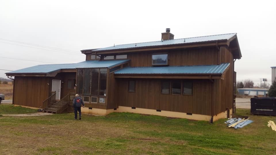Best Hawaiian Blue Metal Roof For The Win Upstate Contracting 640 x 480