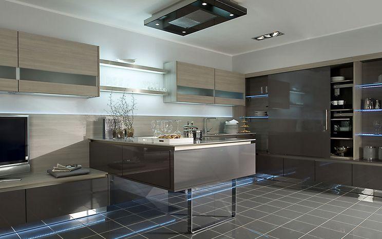 Cocina de diseño en Madrid, muebles de cocina lacados, muebles de ...