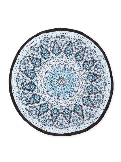 Round Velour Beach Towel by Dohler at Gilt