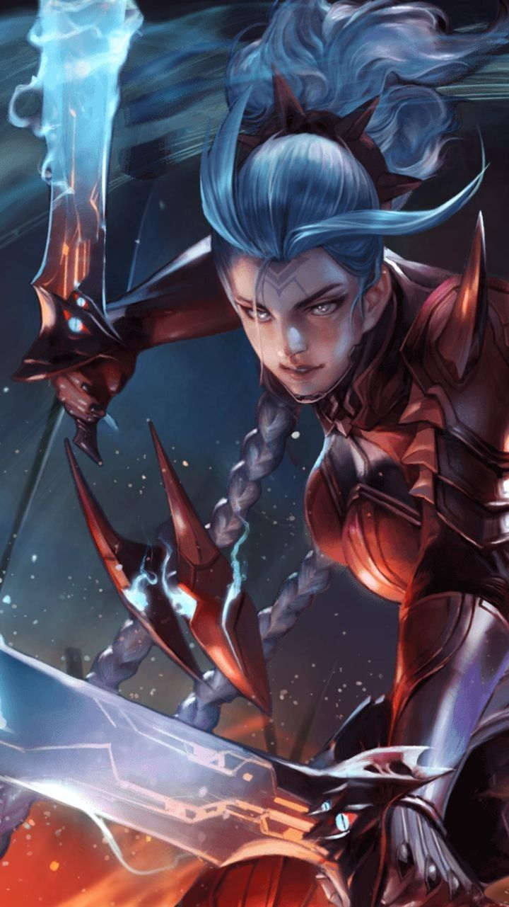 Aov Airi Bloodraid Wallpaper Aov Pinterest Wallpaper Character Wallpaper And Mobile Legend Wallpaper