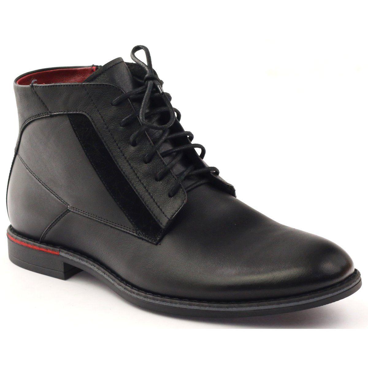 Botki Sztyblety Pilpol Pc6007 Czarne Boots Boots Men Winter Boots