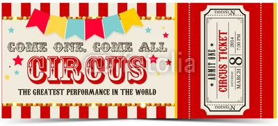 Circus Invitation Ideas as perfect invitations design