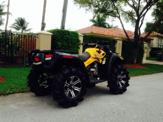 2012 Can Am Outlander 800 X Mr 4 Wheeler Black And Yellow 183 Miles For Sale In Miami Fl 4 Wheelers For Sale Quads For Sale Hot Bikes