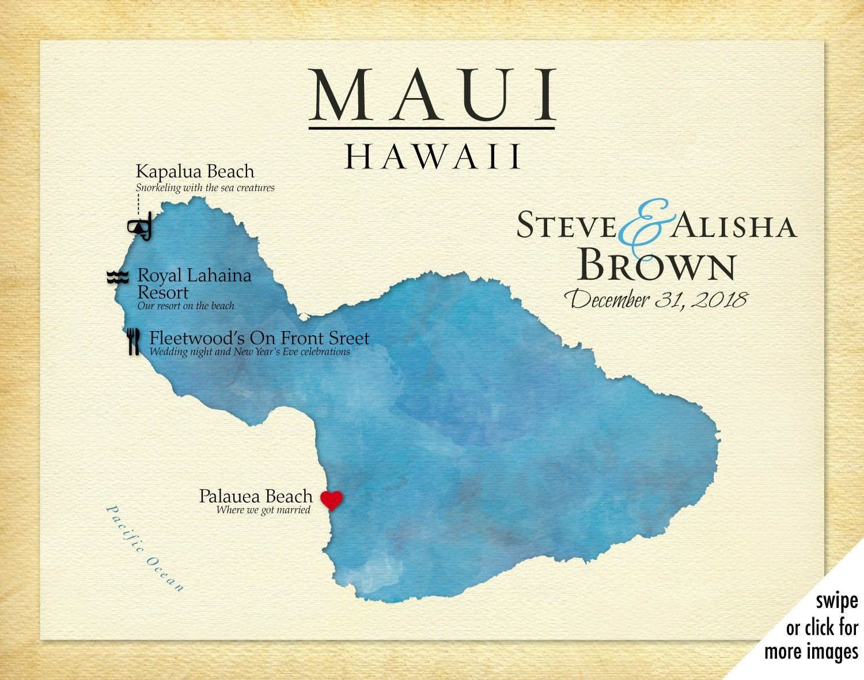 Printable Tourist Map Of Maui