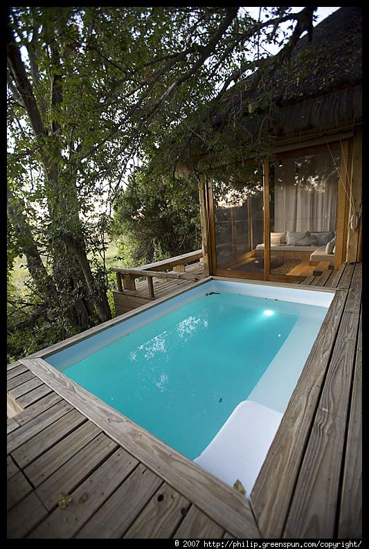 Photograph By Philip Greenspun Room Plunge Pool Small Backyard Pools Small Pools Small Pool