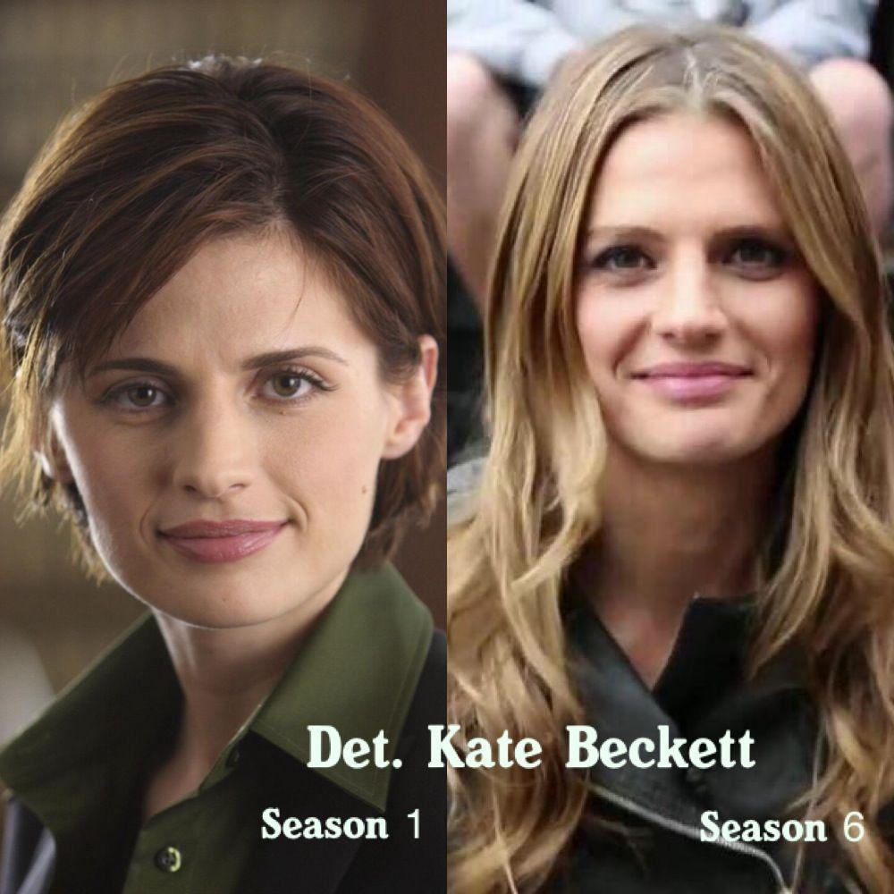♥ stana katic kate beckett season 1 to season 6 castle