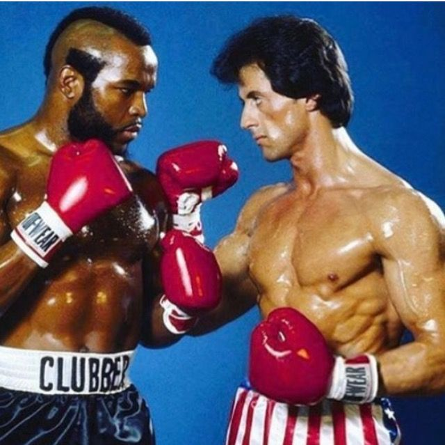 MR T ROCKY CLUBBER LANG Signed 8x10 autographed RP