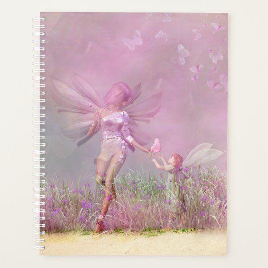 Cute Modern Girly Pink Butterfly Fairies Planner #fairy #cute #fantasy #modern #chic #stylish #elegant #pink #butterfly #butterflies #nature #floral #flowers #botanical #meadow #girly #feminine #stylish #style #trendy #trending #popular #design #designer #planners #planning #planner #plan #organize #organizers #diary #stationery #notebooks #officesupplies #schoolsupplies #gifts #giftsforher #giftsforgirls #home #office #work #school