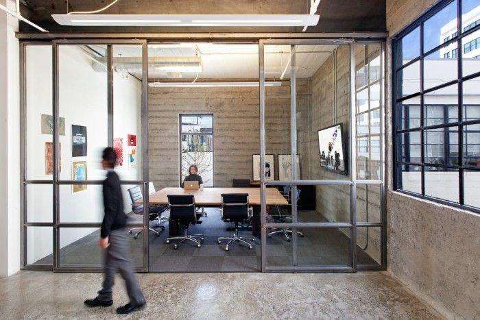 industrial style office interior - Google Search