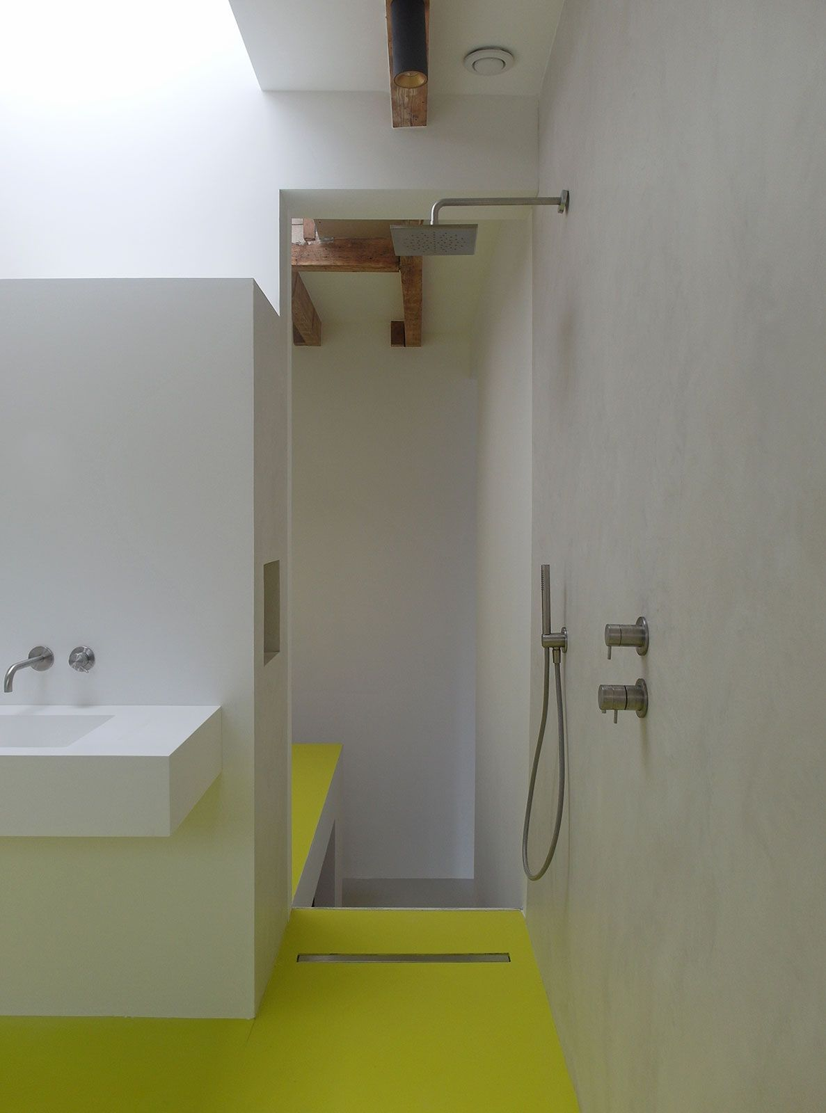 Gietvloer badkamer Amsterdam in 2018 | gietvloer | Pinterest ...