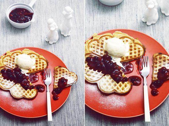 Savoury Waffles:  Basic Recipe