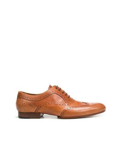 TOOGOO (R) NUEVOS zapatos de gamuza de cuero de estilo europeo oxfords de los hombres casuales Negro(tamano 43) 5VClPqL