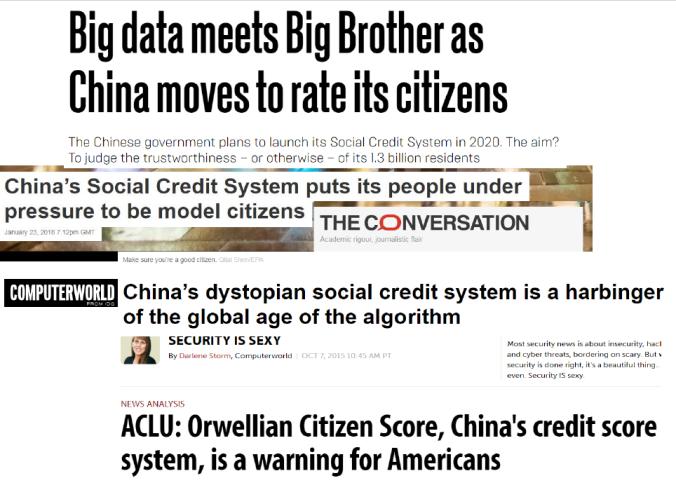Rok 1984 I Social Credit System W Chinach Orwell Na Zywo Czy Kaczka Dziennikarska Modern Library Challenge How To Plan Big Brother Government