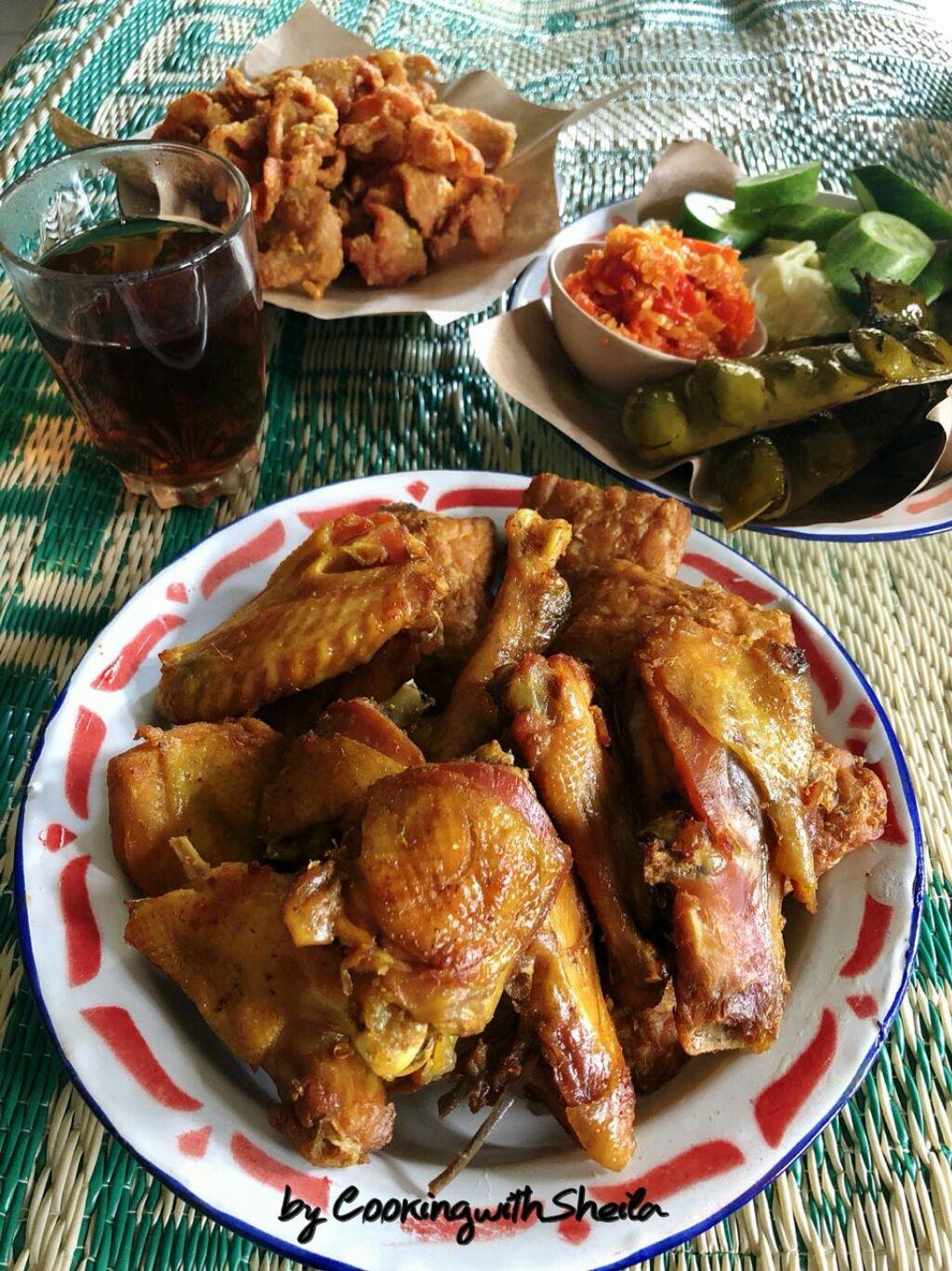 Resep Berikut Ini Resep Ayam Goreng Kuning Ya Pernah Saya Share Sebelumnya Tetapi Resep Kali Ini Saya Dapat Dari Mbak Mei Seka Resep Ayam Ayam Goreng Masakan