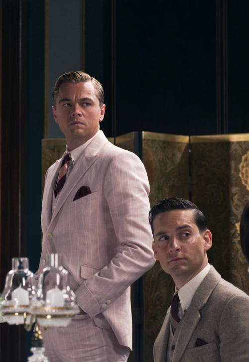 Black Blue The Great Gatsby 2013 Leonardo Dicaprio The Great Gatsby