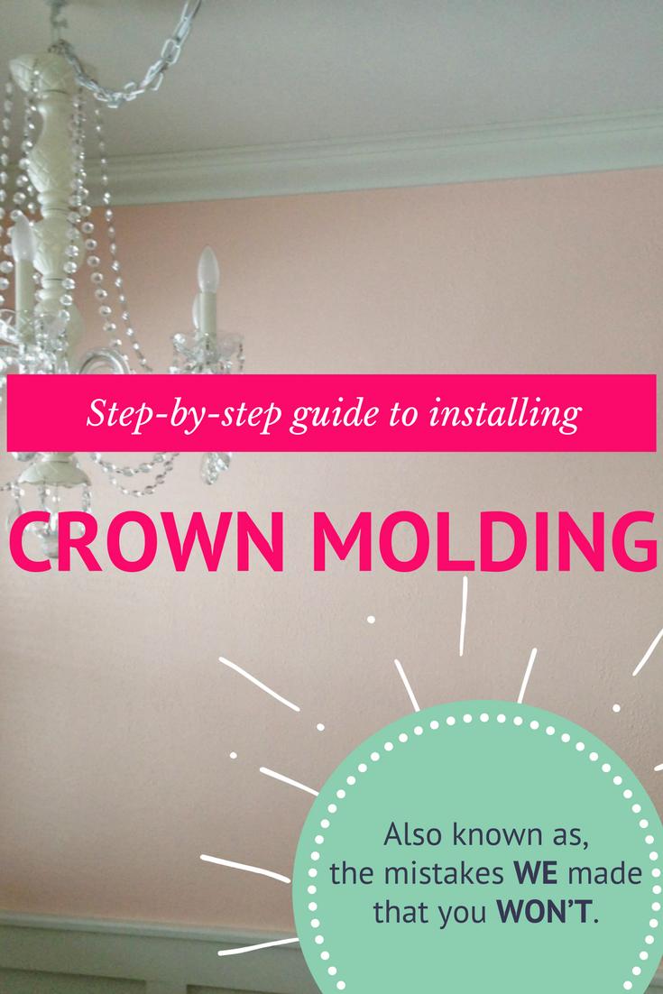 Easy crown molding tutorial