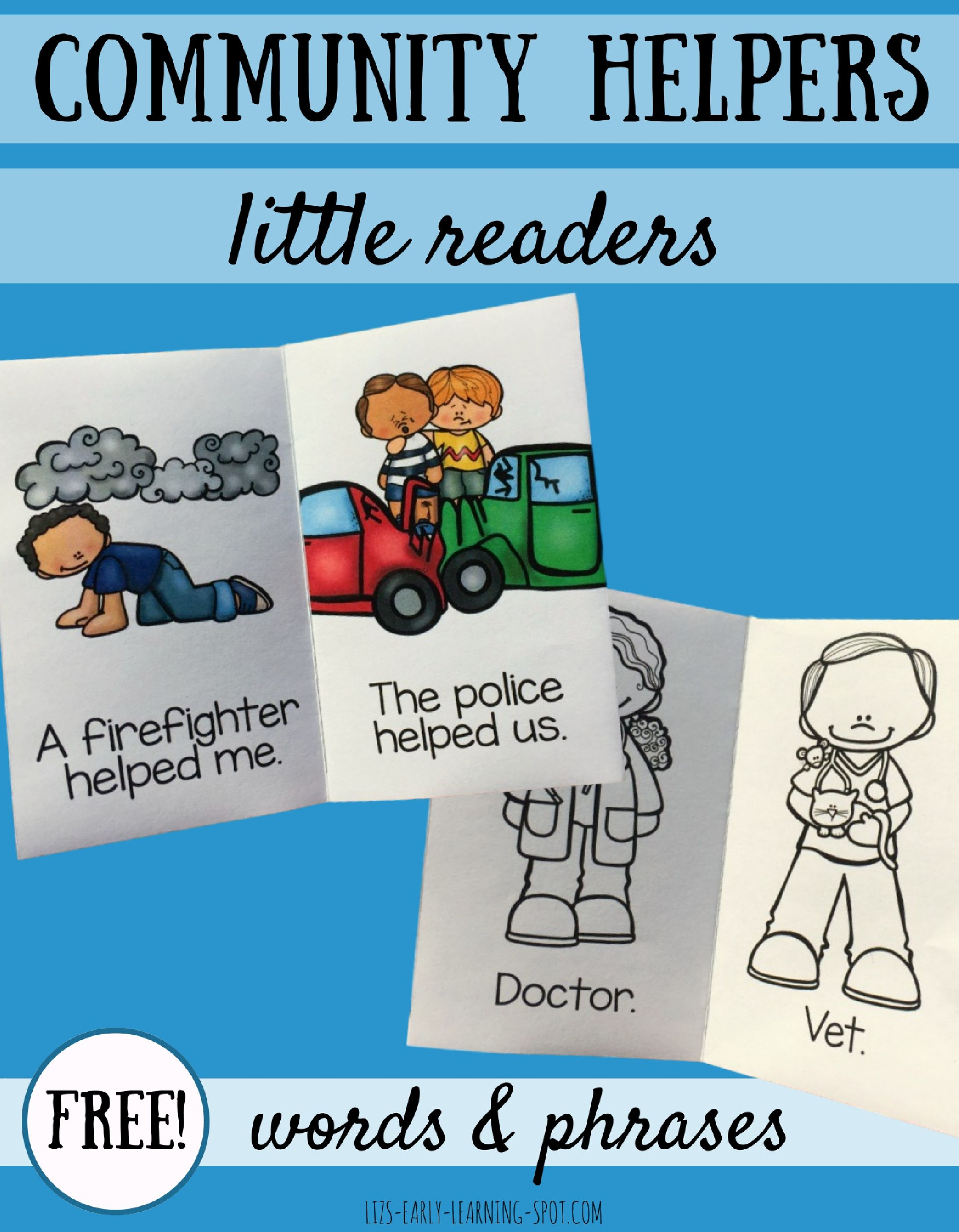 Community Helpers Little Readers