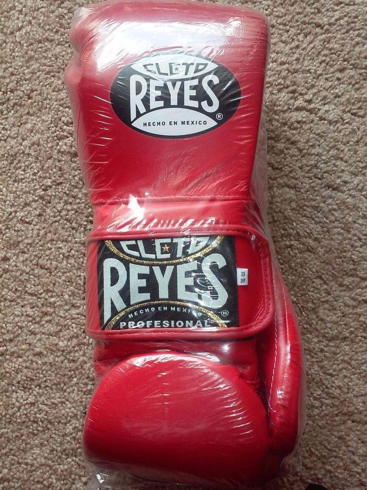 Cleto Reyes Velcro Training Gloves  16oz Red #CletoReyes