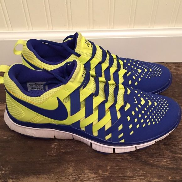 100% authentic 0472a 3ad55 Men s Nike Free 5.0 Trainer in Yellow and Blue Men s Nike Free 5.0 Trainer  In Yellow and Blue Nike Shoes Sneakers