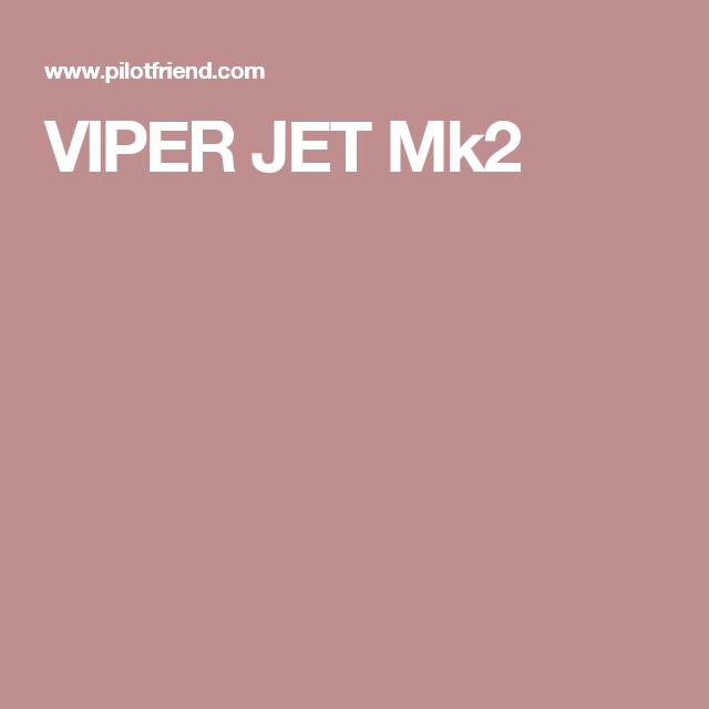 VIPER JET Mk2 | airplane kits | Pinterest | Viper and Jets