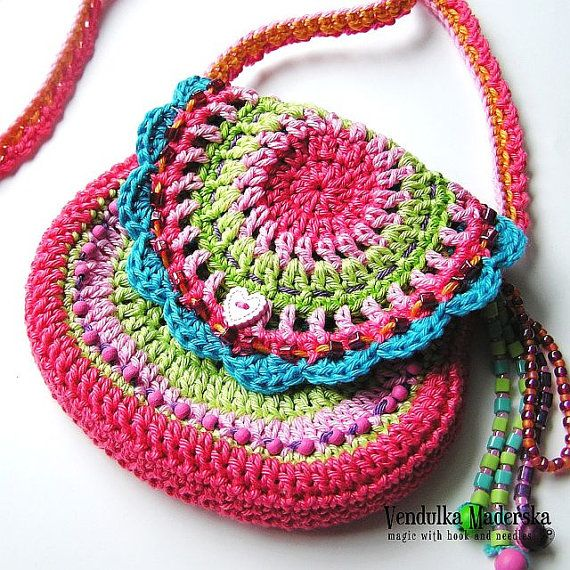 Crochet pattern by VendulkaM - San Francisco purse, digital pattern ...