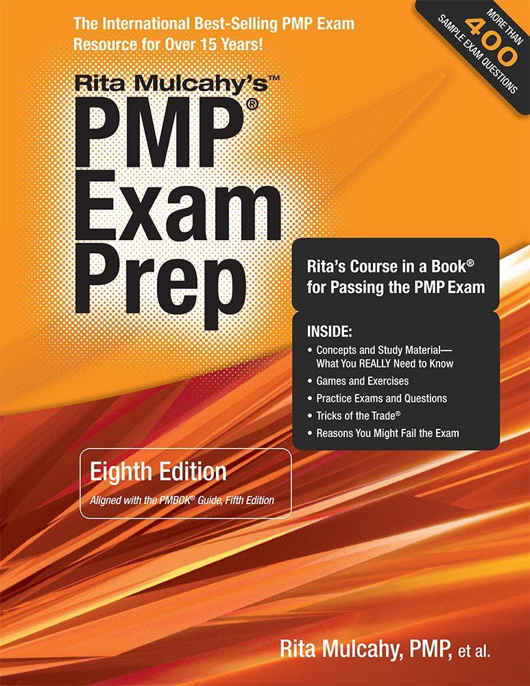 Pmp Exam Prep Eighth Edition Ritas Course In A Book For Passing