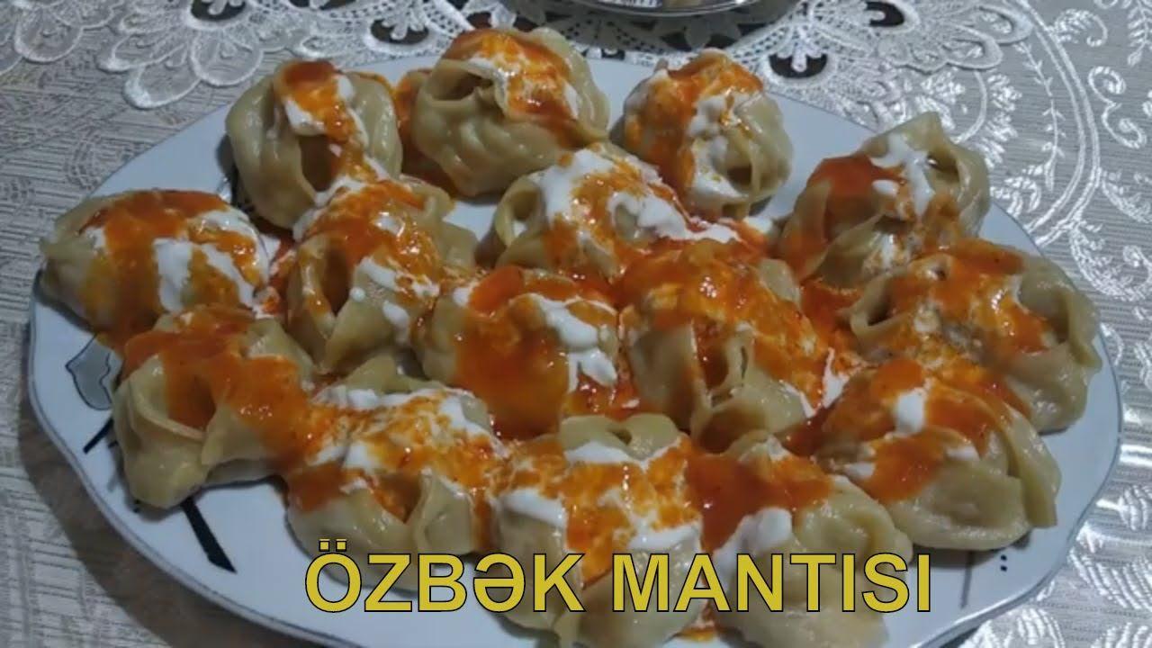 Manti Qazani Olmadan Ozbək Mətbəxindən Dadli Manti Resepti Uzbeksk Food Manti Uzbek
